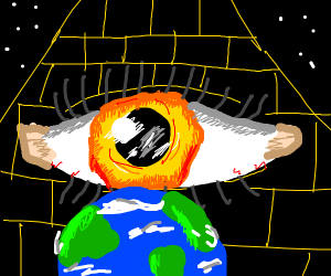 Earth is ducked (I can't say the f word :/)