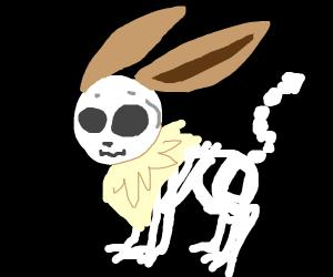 Eevee Skeleton