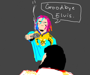 elvis is killed by gucci gang