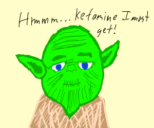 Yoda wakes up from nightmare