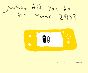 yellow Nintendo Switch Lite