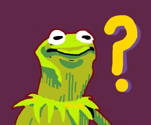 Kermit is confused