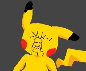 Shrek X Pikachu Drawception