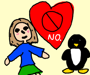 We Don't Ship The Girl Or The Penguin