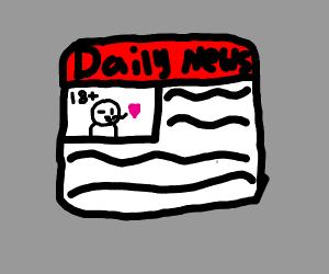 NSFW daily magazine