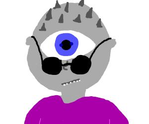 Cyclops wearing Glasses