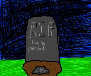 grandads ashes