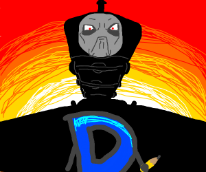 Drawception vs. Thomas the Tank Engine