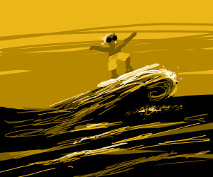 Surfing on an ocean of cola