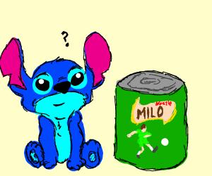 """Stitch wants nestle branded """"MILO"""""""
