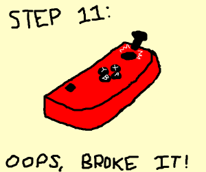 Step 10: Get a Brand New Switch (Nintendo)