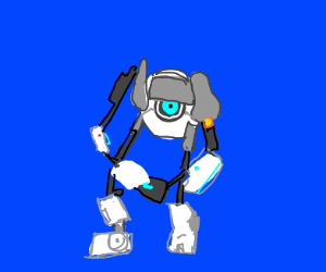 that one round robot from portal
