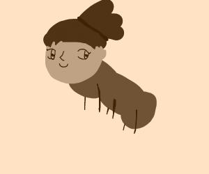 Misty the caterpillar