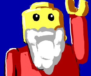 Lego Father Christmas