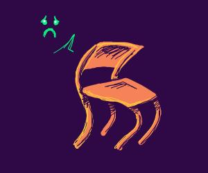 Sad Resting Chair