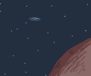 Planet in a galaxy