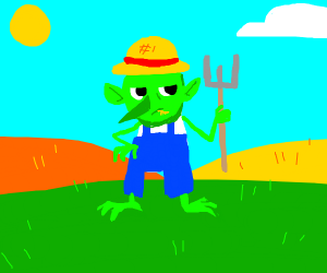Goblin farmer