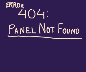 panel not found
