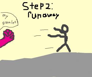 Step 1: Eat the infinity gauntlet