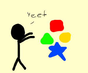 yeeting the shapes