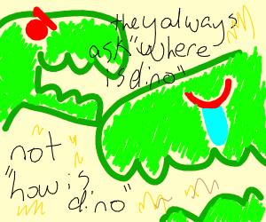 Dinosaur destroy, but also love