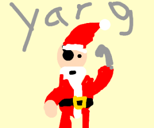 Christmas pirate