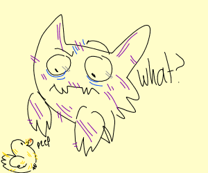 haunter is very confused