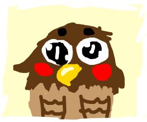 Surprised Eagle