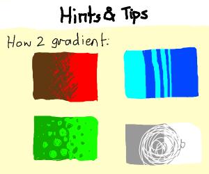 a random tips and tricks panel