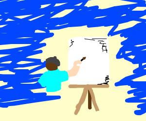 A drawing of no drawing