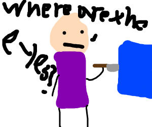 cyanide and happiness guy stabs blue square