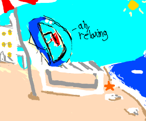 Drawception D on Vacation