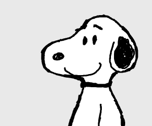snoopy the dog from peanuts