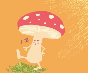 Mushroom Walking