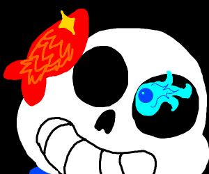 -Sans: fishes gonna have a bad time