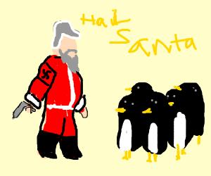 Penguin believes in the Nazi Santa Claus