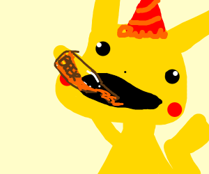 Pikachu's 21st birthday