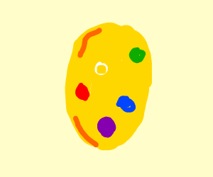 Thanos Egg Drawception