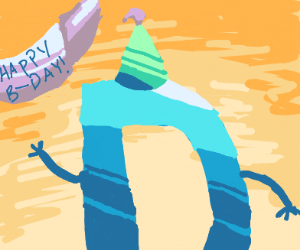 D's birthday party