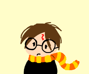 Harry Potter with no nose