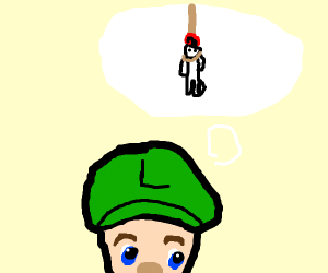 This is all in your head, Luigi!