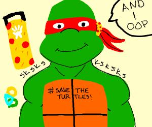 vsco ninja turtle