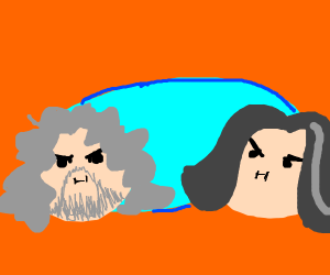 The Game Grumps but they're Old Grumps