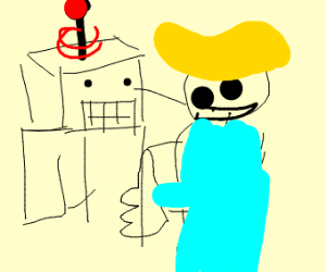 Robot and fallout boy