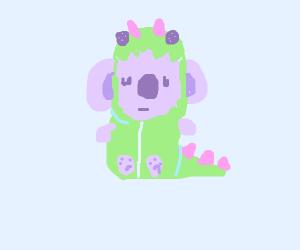 Koala in disguise