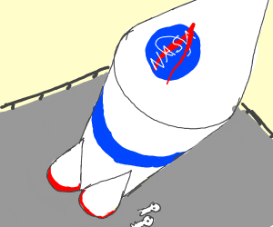 nasa rocket ship