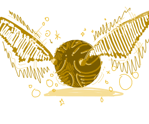 The golden snitch - HP