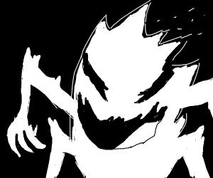 White flame monster