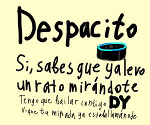 ....despacito.. also bottom text