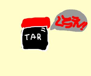 jar of tar, ace attarney